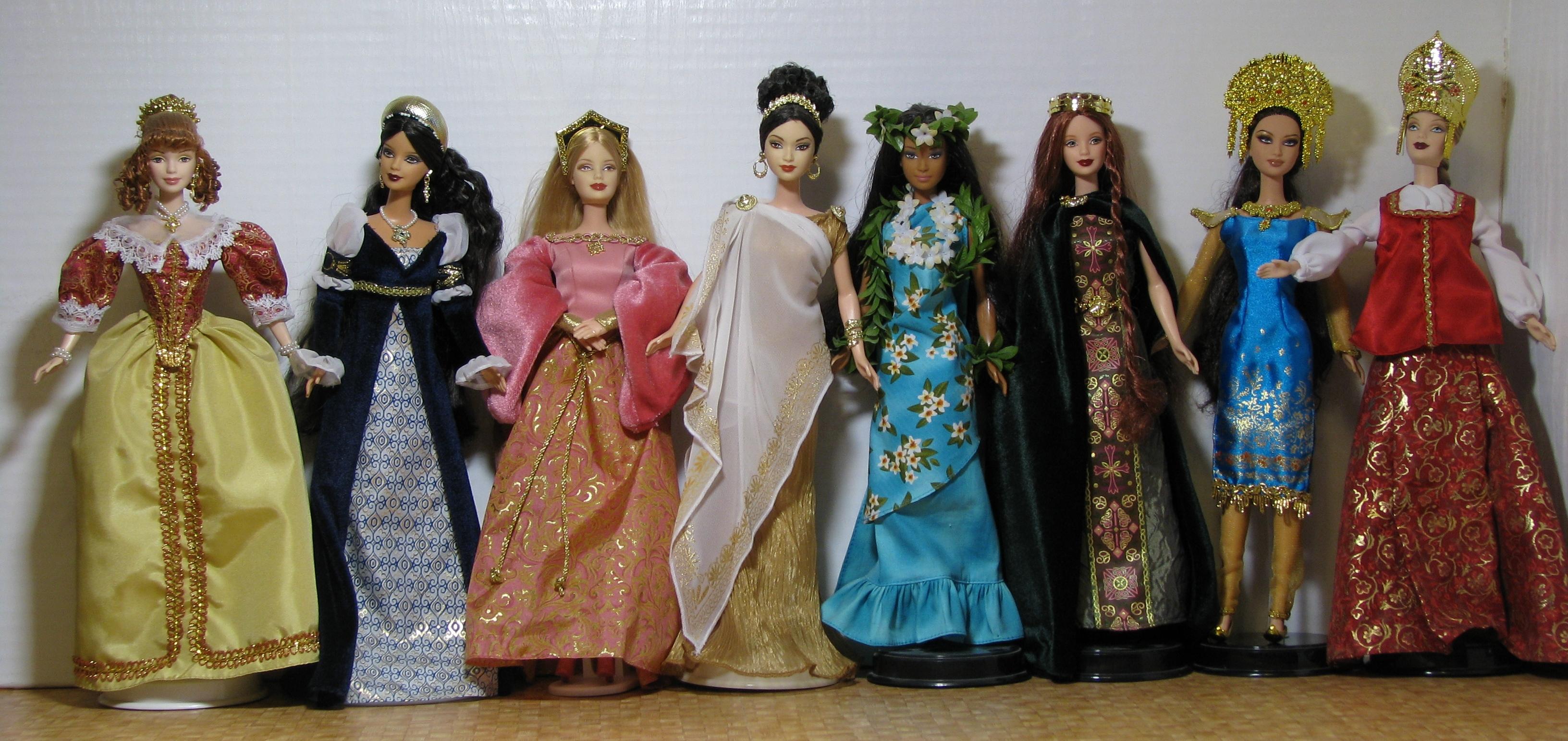 Барби принцессы и куклы мира