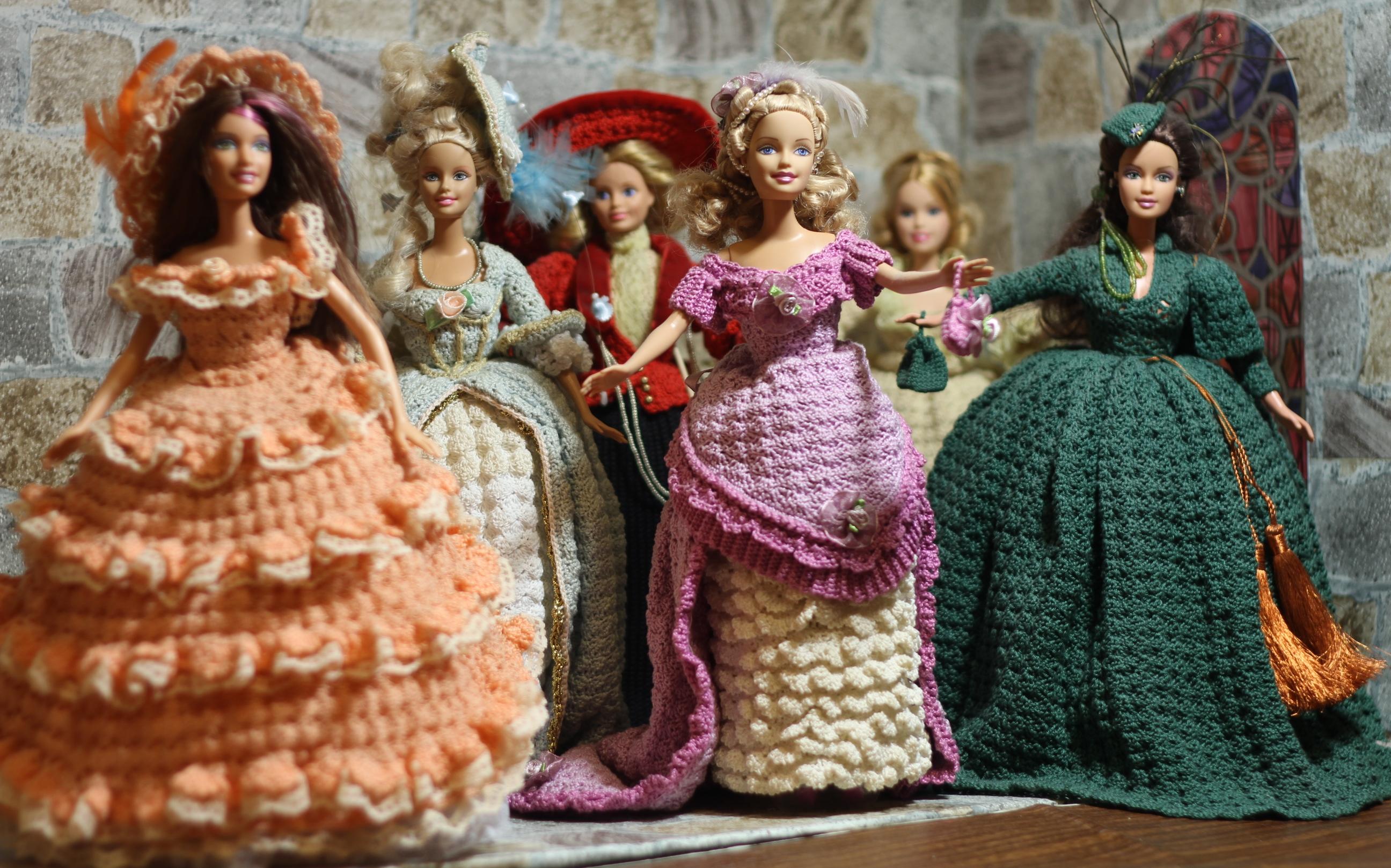 Как Связать Платье Для Куклы Мокси Схема.