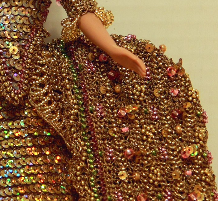 платья из бисера,платья из